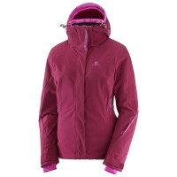 Salomon Ladies Brillant Jkt Beet Red